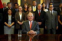 Į korupcijos skandalą įtrauktas Peru prezidentas atsistatydino