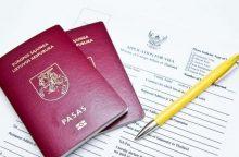Lietuvoje – per 3 tūkst. žmonių be jokios pilietybės