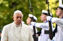 Popiežius Estijoje: penkios įsimintiniausios citatos