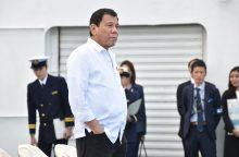 Japonija baiminasi dėl Filipinų lyderio elgesio su imperatoriumi