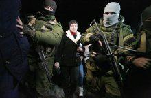 Belaisvius aplankiusi N. Savčenko sulaukė kritikos