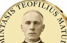 Nukaldintas T. Matulionio atminimo medalis