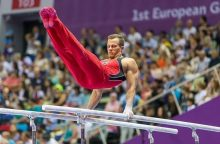 Gimnastas R. Guščinas: šiemet galite sulaukti mano starto čempionatuose