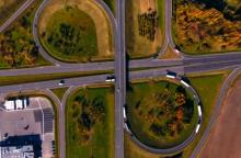 Vaizdo klipe – žvilgsnis į Garliavą iš aukštai