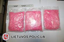 Panevėžiečiai ekstazio tabletes platino kilogramais