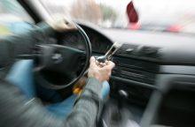 Pusketvirtos promilės girtumas vairuoti nesutrugdė