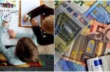 Tėvai jaučiasi apgauti: dėl vėliau prasidėjusių mokslo metų – mažesnė išmoka