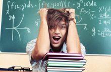 Studentai ir stresas: pataria, kaip jaustis geriau