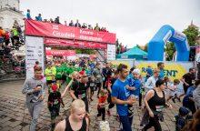 """""""Citadele Kauno maratonas"""" bėgikus pakvies į naujas trasas"""
