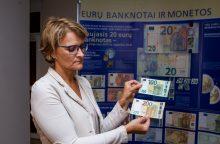 Nauji eurai gražiau guls į piniginę, žinoma, jei jų turėsite