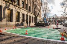 Kauno centre įprastiems automobiliams – mažiau stovėjimo vietų