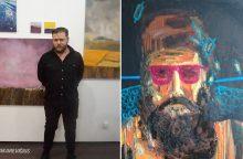 Tapytojas apie autoportretą: tai – savijautos diagnozė