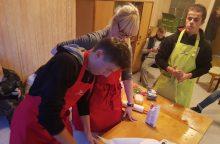 Pica su žirneliais ir kiti  eksperimentai su maistu