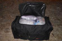 Narkotikų kontrabandininkams koją pakišo netyčia užmiršti 5 kg kvaišalų