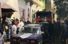 Kaire per sprogimą žuvo du policininkai