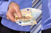 STT: pas korupcija įtariamus teisėjus rasta 200 tūkst. eurų grynųjų