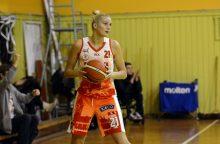 Moterų krepšinio lygos favorite trečią kartą tapo L. Svarytė