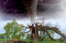 Meteorologai: stichinių nelaimių tik daugės