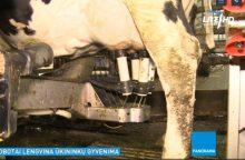 Robotai lengvina ir Lietuvos ūkininkų gyvenimą