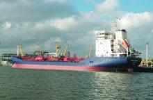 Laivų tonažas didina pajamas