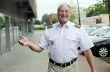 Kapitonas A. Sbitnevas: išbandymas jūra – ne kiekvienam