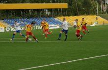 """""""Saremos"""" futbolininkai pabėgo nuo persekiotojų"""