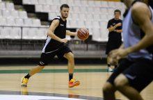 """Š. Vasiliauskas žaidė rezultatyviai, tačiau """"Daruššafaka"""" ekipos neįveikė"""