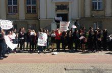 Menų akademijos bendruomenė stojo prieš krepšelių mažinimą