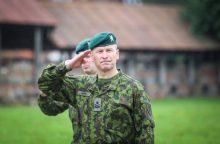 Sausumos pajėgų vadas: norime turėti dvi kariuomenes
