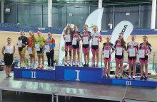 Dvi dviratininkės susižėrė net po aštuonis šalies čempionato aukso medalius