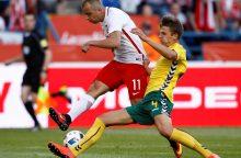 Lietuvos rinktinės futbolininkas siunčiamas rungtyniauti į Sibirą