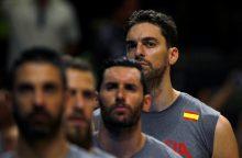 Ispanijos krepšinio rinktinė patiesė venesualiečius