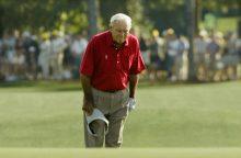 JAV mirė golfą išpopuliarinęs žaidėjas