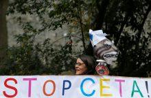 ES ir Kanada pirmadienį nuspręs, ar įvyks susitikimas dėl CETA sutarties