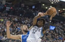 NBA – J. Valančiūno dvigubas dublis
