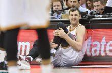 """Australijos milžinas sutiko su minimaliu """"Lakers"""" pasiūlymu"""