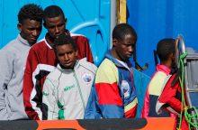 Į Lietuvą atvyko dar 10 pabėgėlių iš Eritrėjos