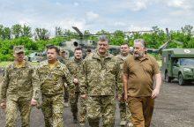 Rytų Ukrainoje šeštadienį įsigalios naujos paliaubos