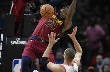 J. Valančiūnas NBA rungtynėse atakavo fantastiškai