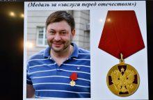 """Ukrainos teismas areštavo suimto """"RIA Novosti"""" žurnalisto K. Vyšynskio turtą"""