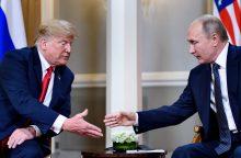 Helsinkyje prasidėjo D. Trumpo ir V. Putino derybos <span style=color:red;>(pildoma)</span>