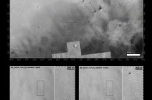 """Europos zondas """"Schiaparelli"""" sudužo Marse"""