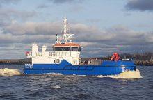 Uoste – modernus narų laivas