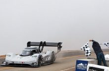 """""""Pikes Peak"""" automobilių varžybose – naujas rekordas"""