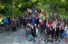 Ar klaipėdiečiai išdrįs priimti dviračių iššūkį dar kartą?
