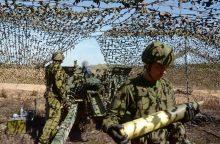 Lietuvos kariai dalyvaus ugnies paramos pratybose Vokietijoje