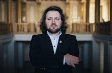 Pianisto G. Januševičiaus rečitalis skambės Klaipėdos parke