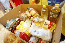 Vasarį maisto paketų sulauks apie 137 tūkst. skurstančių žmonių