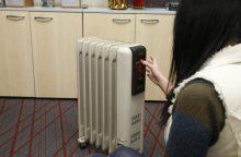 Ar iš sandėliukų ištraukti elektriniai šildymo prietaisai veikia saugiai?