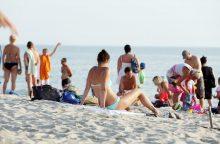 Įspėja: saulės malonumais reikia džiaugtis atsakingai
